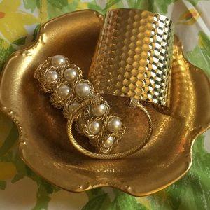 Jewelry - GORGEOUS gold bracelet bundle